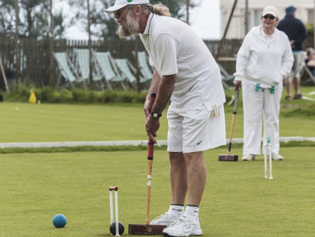 Sidmouth Edge out Nailsea in Golf Croquet Meeting