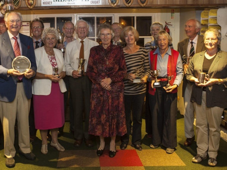Sidmouth Croquet Club Stage 2013 AGM