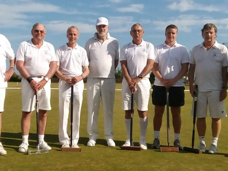 Sidmouth Croquet Team 'Outgunned' But Held To The Golden Hoop In Final Game