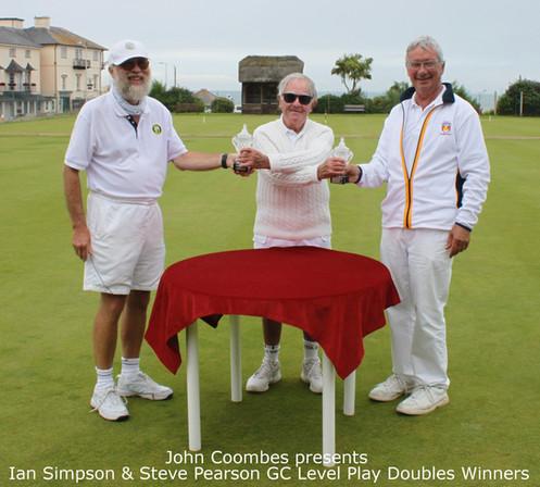 Ian Simpson & Steve Pearson GC Level Play Doubles Winners.JPG