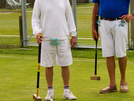 Sidmouth Edged Out by Budleigh in Close Encounter of the Croquet Kind