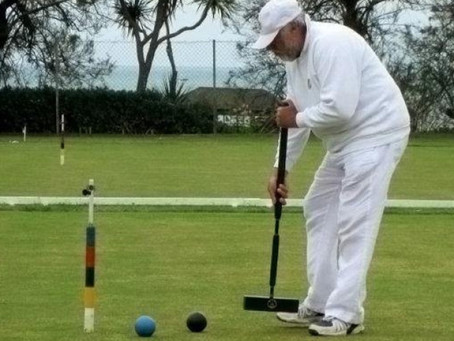Griew Beats the Weather and the Field to Win 14-point Croquet Match at Sidmouth