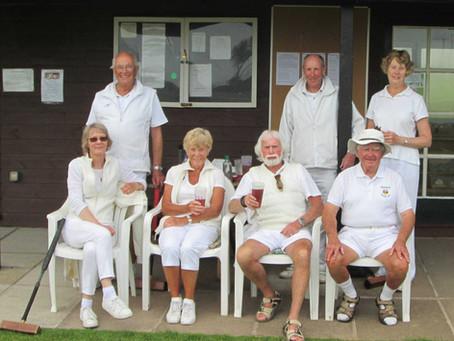 Association Croquet Handicap Competition 25 May