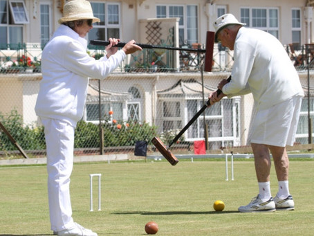 Sidmouth June Tournament Proves Another Huge Success for the Croquet Club.