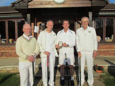 Sidmouth Croquet Players Enjoy Success at Nailsea
