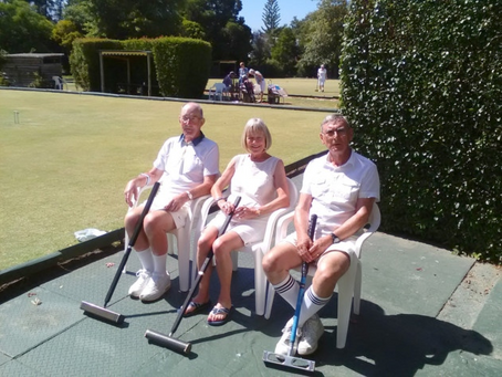 East Devon croquet players play in South African sunshine