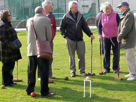Never Too Late to Learn Croquet