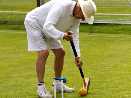 Sidmouth Croquet Club Skills Tournament Enjoyed By All
