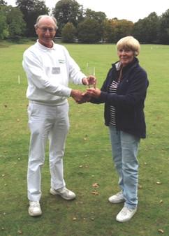Stephen Custance-Baker presents Pam Bowr