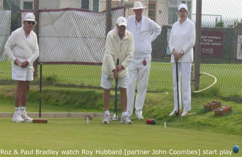 Roz & Paul watch Roy Hubbard [partnering John Coombes] start play 2.JPG
