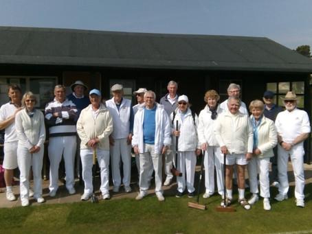 Sidmouth Croquet Club - One-Ball Fun Event As Alzheimer Fundraiser Proves A Big Success
