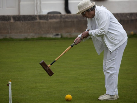 Sidmouth Croquet Club Finals Weekend – Nelson Lifts Belmont Cup