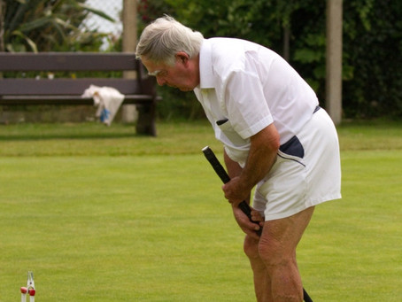 Sidmouth Croquet Team Share Spoils with Hosts Exeter and 'Drink to the health of the Visiting Medics