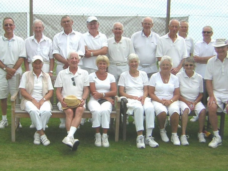 Taylor and Matthews Triumph at Sidmouth Croquet Club