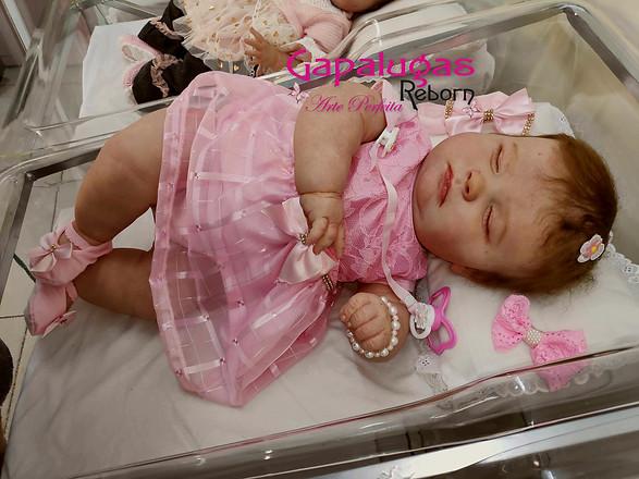 Bebê Reborn Josefh Sleeping - Seu nome é Tayla