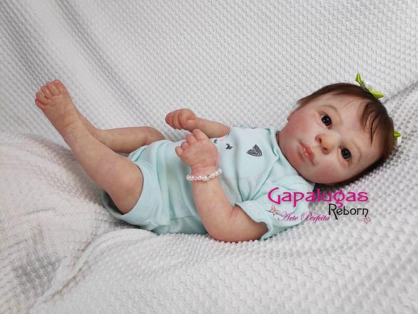 Bebê realborn kit Ária Acordada