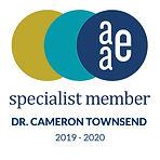 AAE-Logo-Cameron-Townsend-DDS-2019-2020.