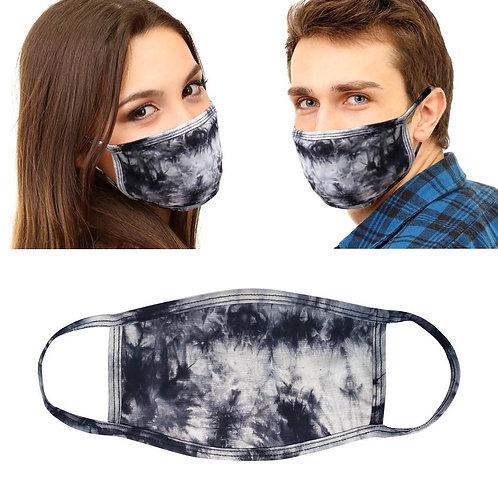 Black Tie Dye Mask