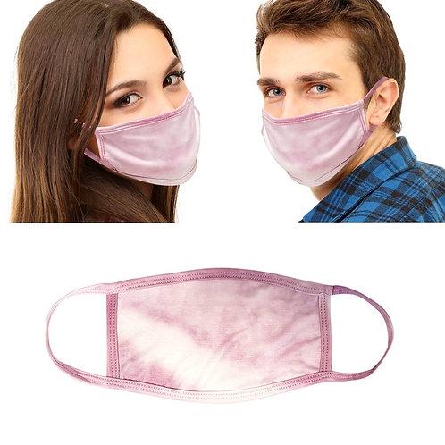 Pink Tie Dye Mask