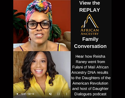 African Ancestry Daughter Dialogues Inst
