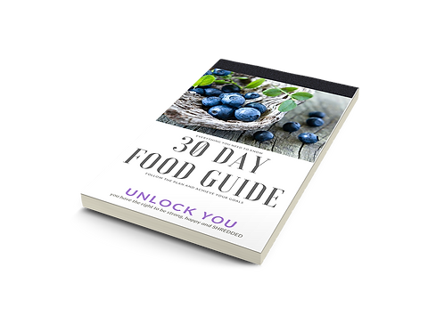 30 Day Food Guide (inside the Surge Plan)