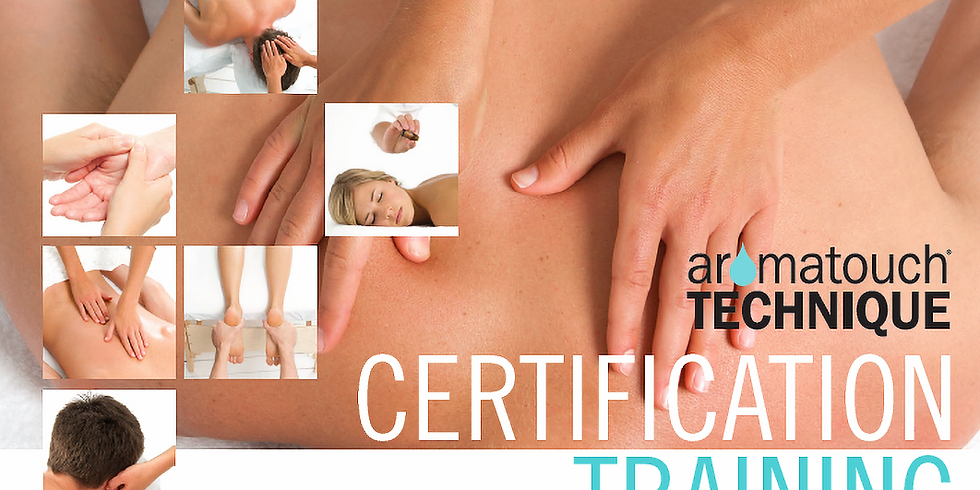 Aromatouch Technique Certification Training with Dr. Dave and Callie
