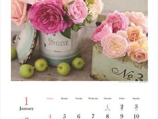 ばらの香りカレンダー