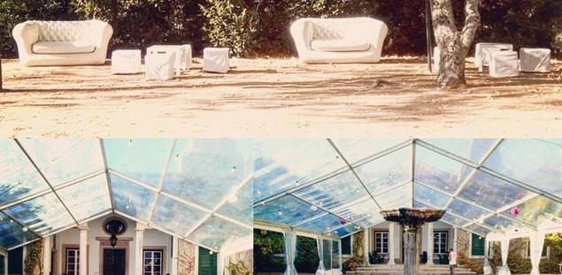 casamento azeitao tenda sofa insuflavel
