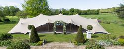 tenda tensionada para casamento