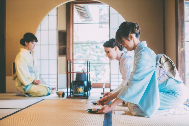 Tea ceremony experience(茶道)
