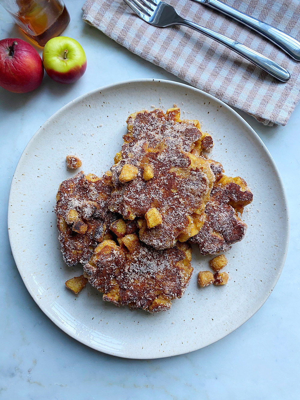 Apple Fritter French Toast