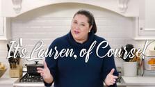 It's Lauren, of Course!