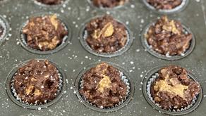 Peanut Butter-Chocolate Farfel Cups