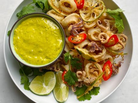 Thai-Inspired Fried Calamari