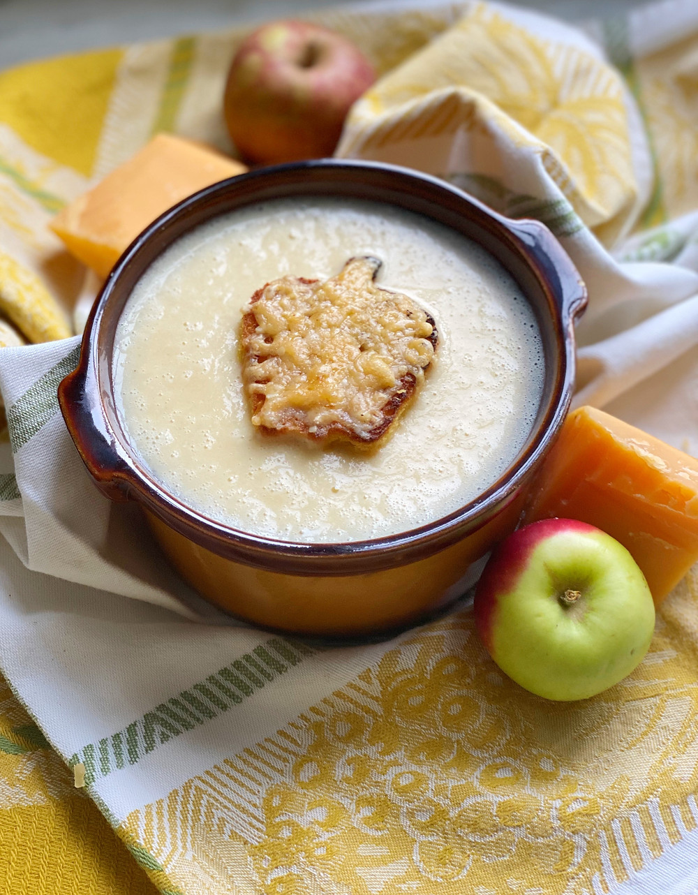 Apple & Cheese Soup