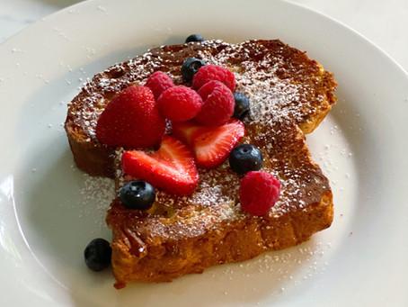 Overnight Sheet Pan French Toast