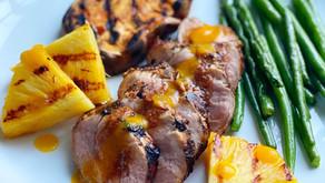 Grilled Pork Tenderloin with Pineapple & Habanero