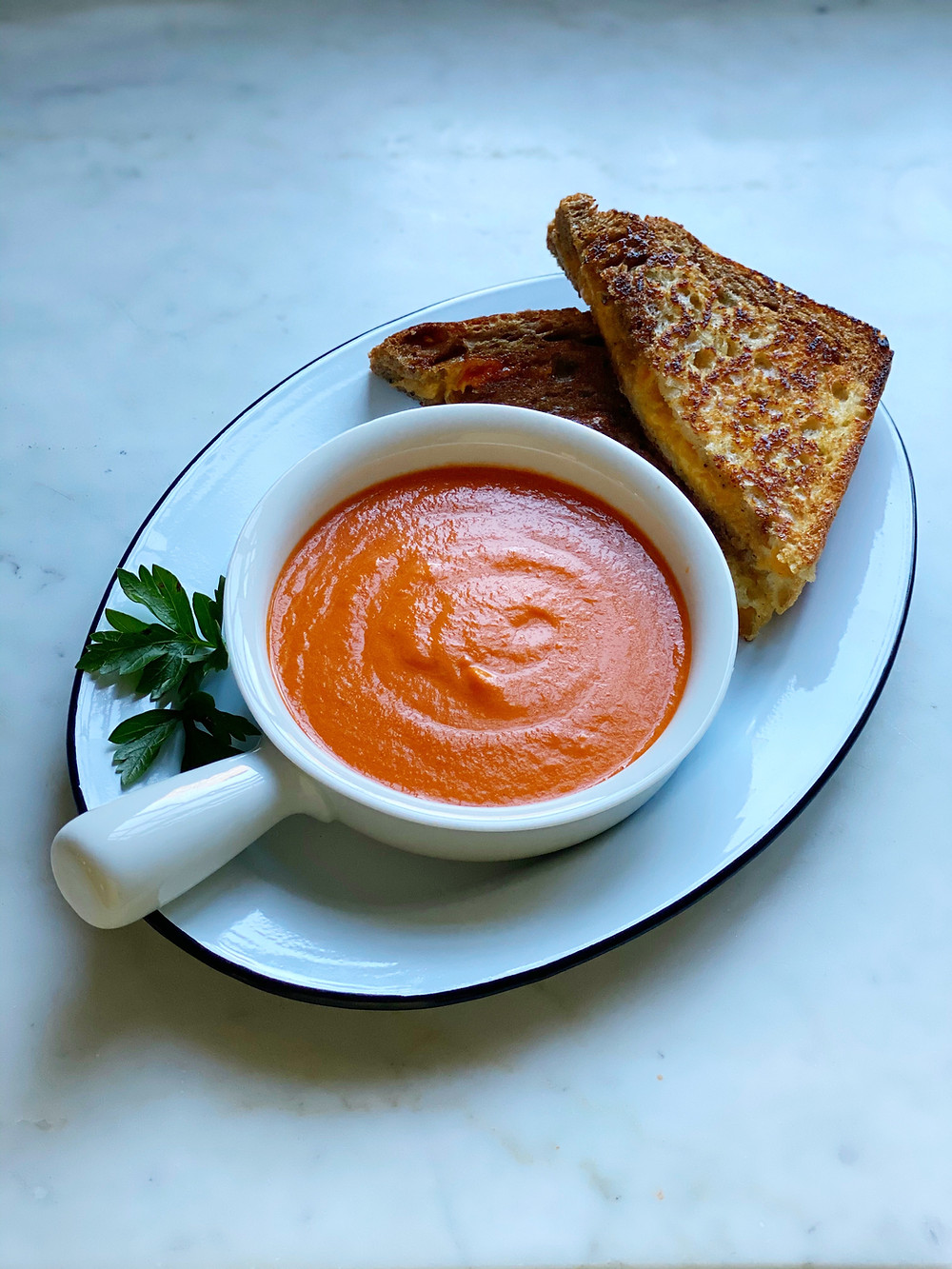 Chilled Orange-Tomato Soup