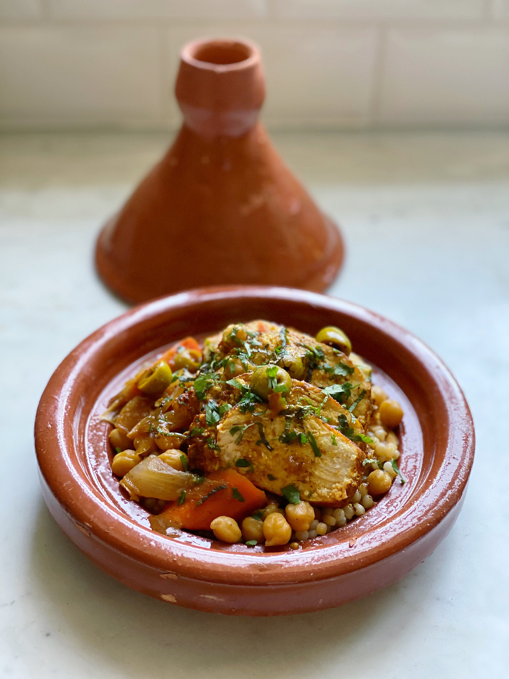 Quick Chicken Tagine