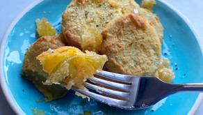 Fried Green Tomatoes with Honeycomb
