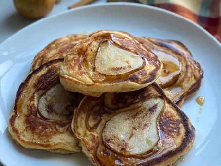 Spiced Pear Pancakes