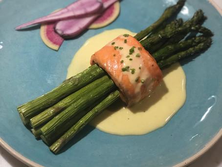 Salmon-Wrapped Asparagus