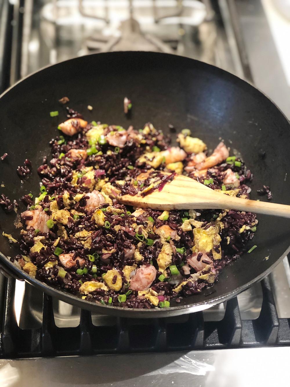 Black Thai Fried Rice