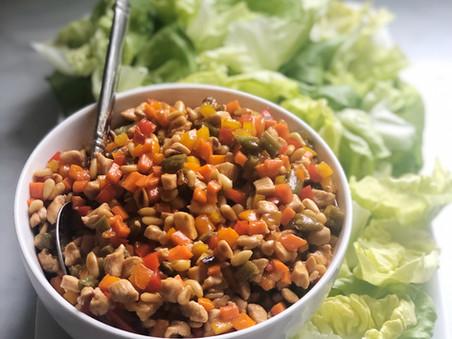 Chicken Soong Lettuce Cups