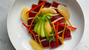 Tuna Ceviche with Grapefruit & Tamarind