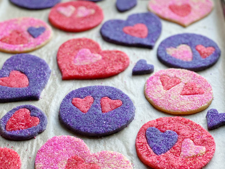 Sweetheart Puzzle Cookies