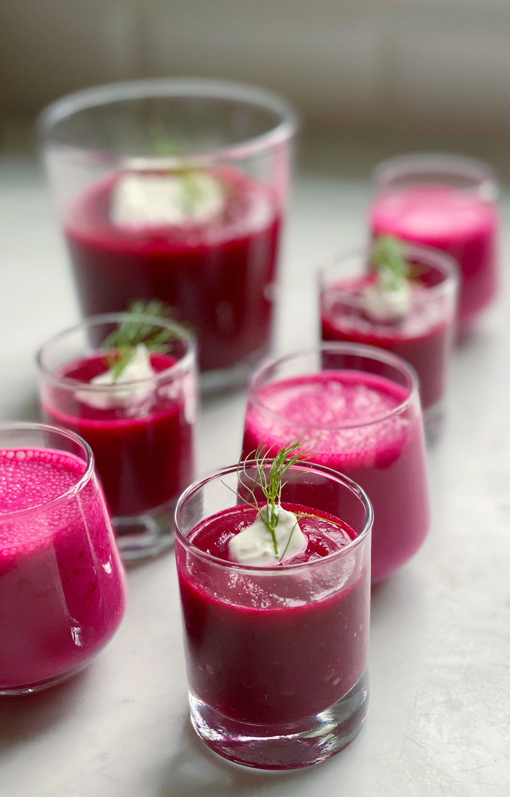 Quick Chilled Borscht