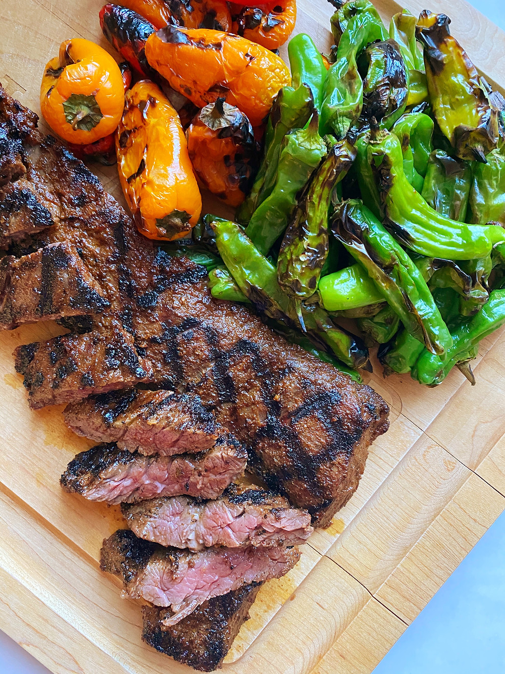 Spiced Skirt Steak
