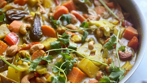 Rainbow Vegetable Korma