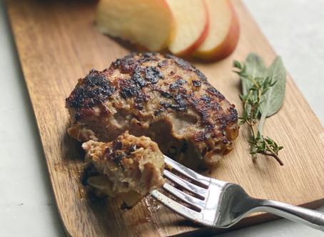 Maple-Apple Turkey Breakfast Sausage